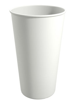 WT480. Бумажный стакан для горячих напитков 480мл. (белый)