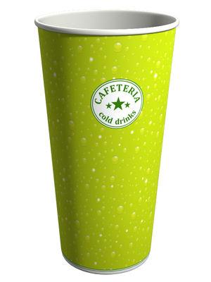 S605VT. Бумажный стакан для холодных напитков 600 мл.