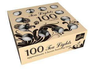 Свечи чайные в гильзе (плавающие) 100шт.