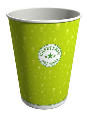 S365VT. Бумажный стакан для холодных напитков 360 мл.
