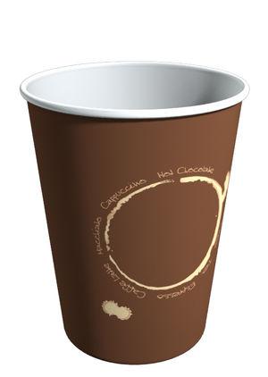 S271VT. Бумажный стакан для горячих напитков 270мл.