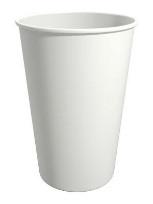 WT300. Бумажный стакан для горячих напитков 300мл. (белый)