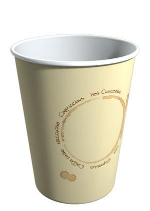 S270VT. Бумажный стакан для горячих напитков 270мл.