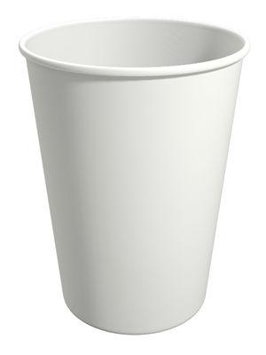 WT270. Бумажный стакан для горячих напитков 270мл. (белый)